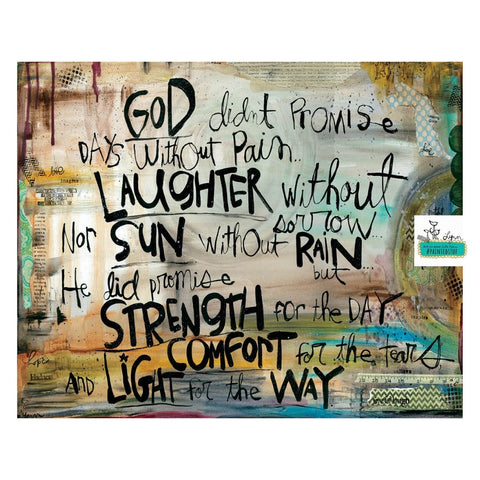Gods Promises STRENGTH, COMFORT, LIGHT