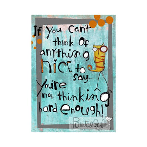 Greeting Card- NICE
