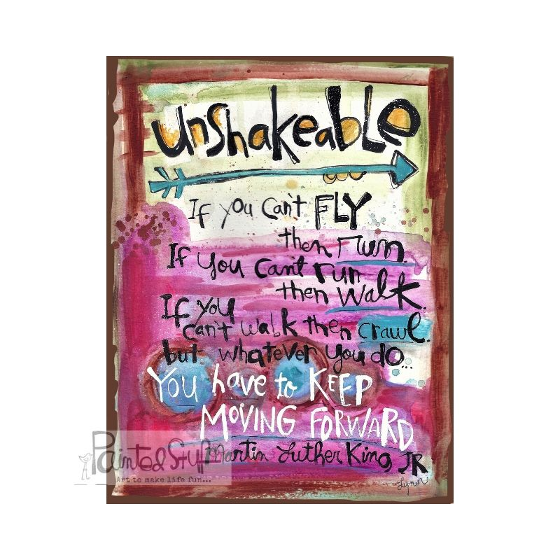 Greeting Card- Unshakeable