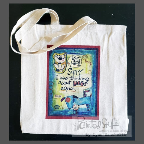 Tote-Canvas- Dogs