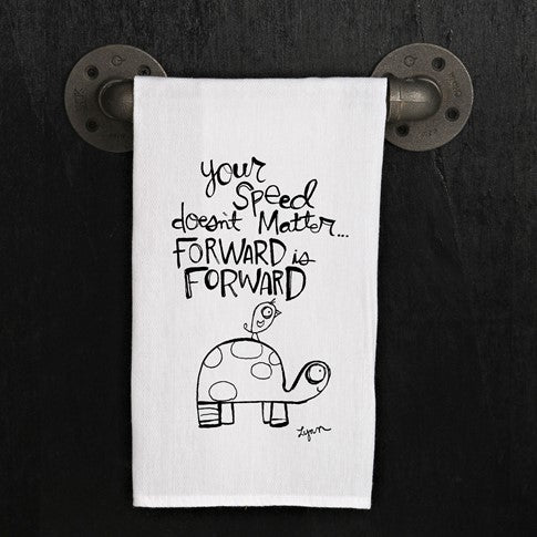 Tea towel- Turtle- Forward