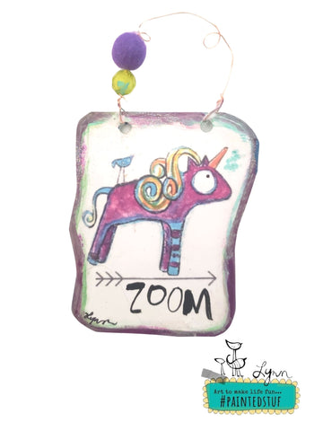 Zoom Ornament
