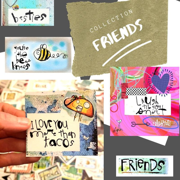 Mini Note Pack-FRIENDS