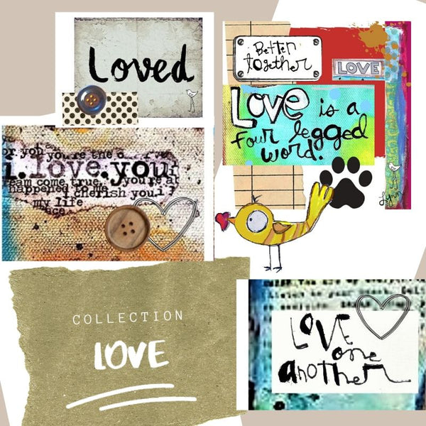 Mini Note Pack-LOVE
