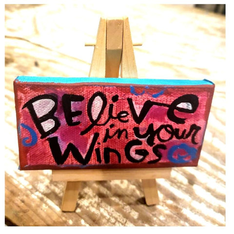 Believe in your Wings