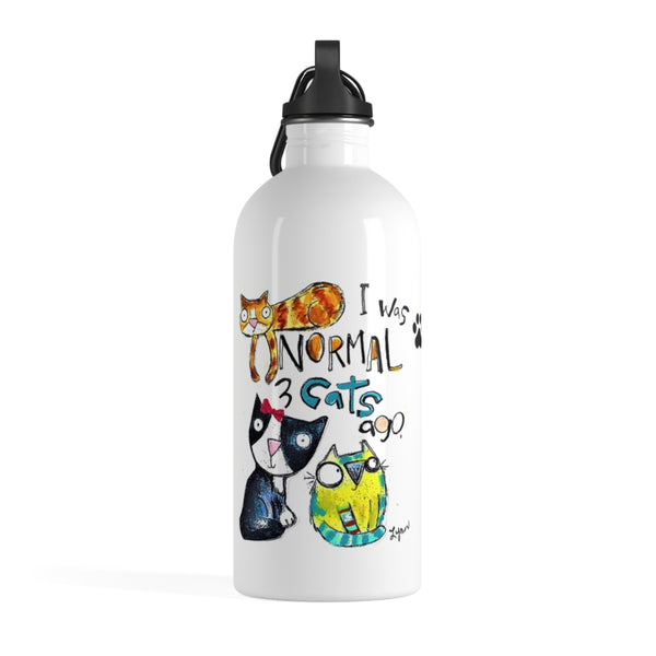 Water Bottle 3 Cats ago