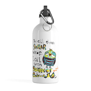 Swear words Water Bottle