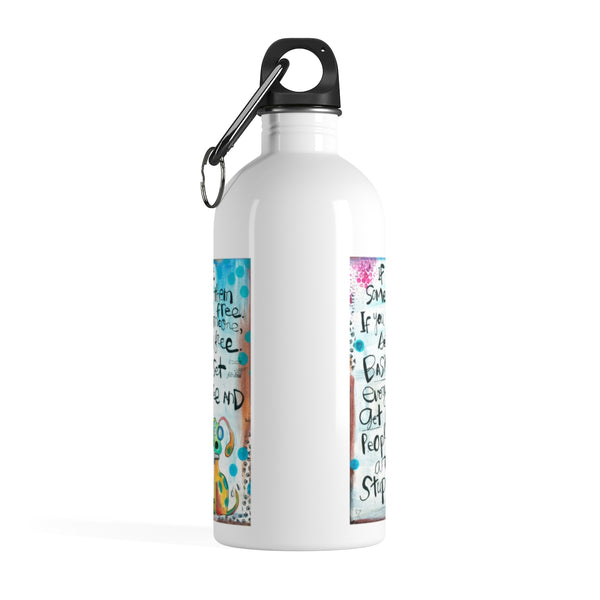 Get a Dog Stainless Steel Water Bottle