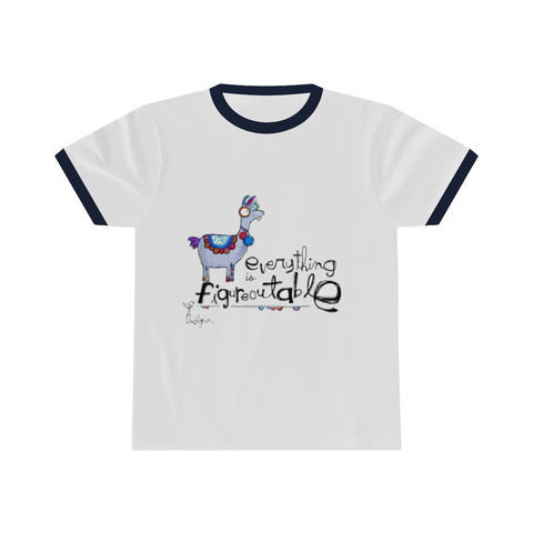T-Shirt -FIGUREOUTABLE Ringer tee