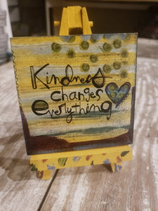 Easel Art Kindness