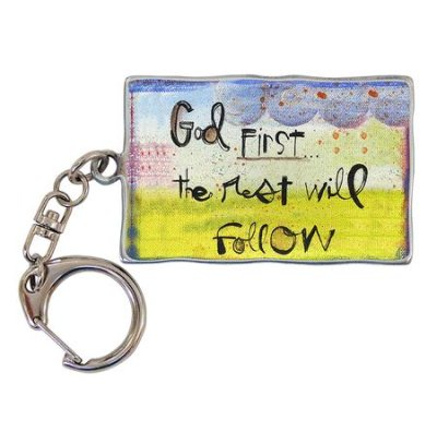 Keychain=God first