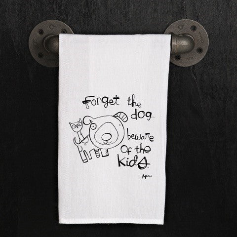 Tea Towel Dogs Kids