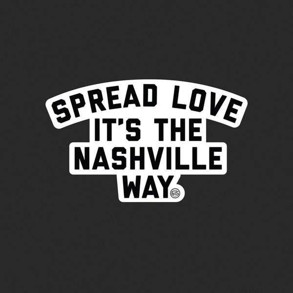 Spread Love Sticker