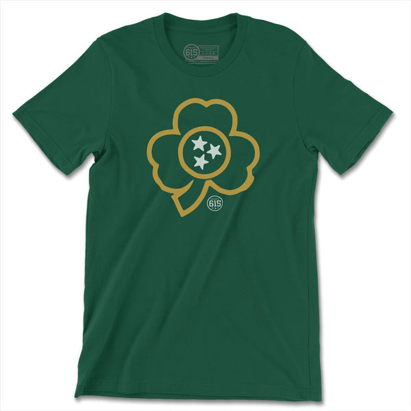 Tristar Shamrock Forest Green Tee