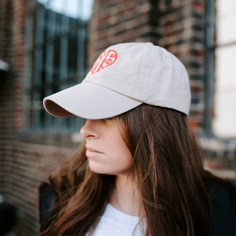 615 Heart Embroidered Cap