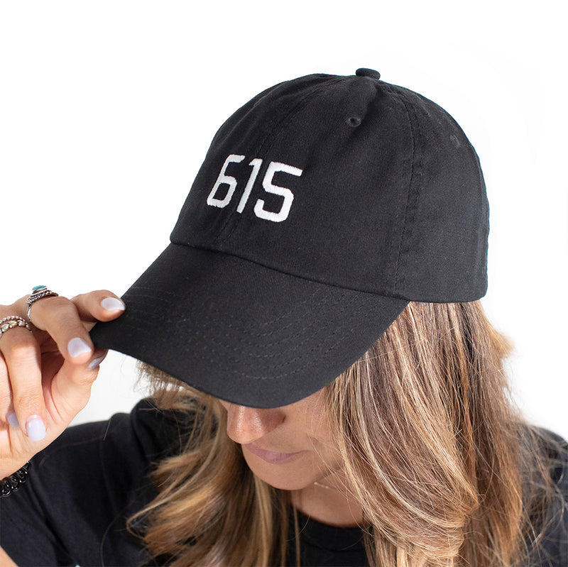 Black 615 Cotton Hat