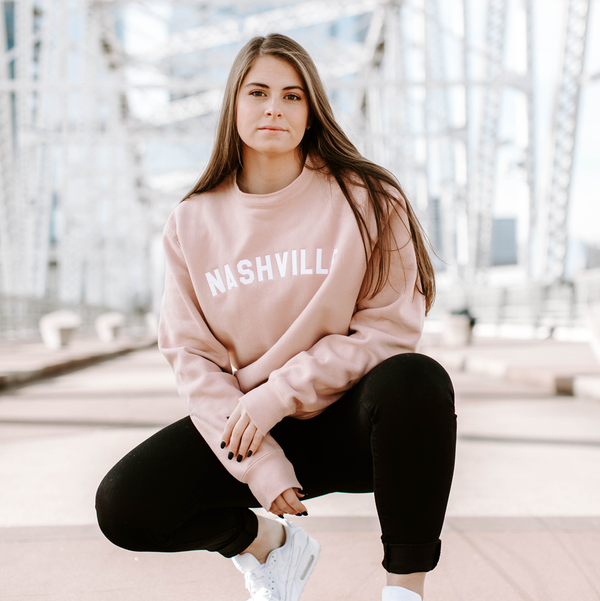Premium Crewneck - Dusty Pink