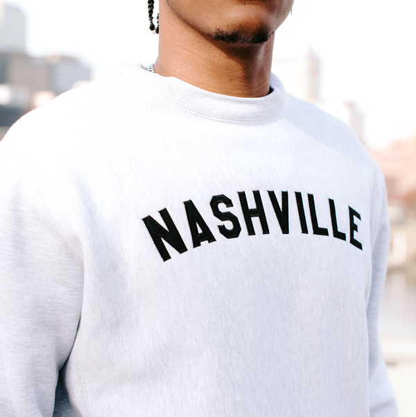 Premium Crewneck - Heather Grey