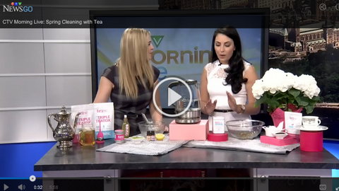 Tease Tea DIY Spring Beauty Recipes with Tea Sommelier Sheena Brady