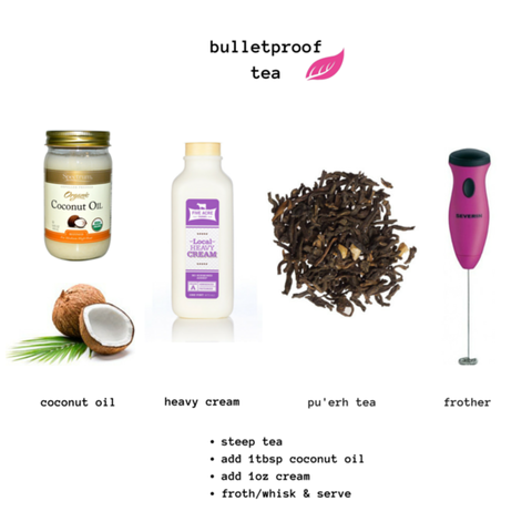 bullet proof tea by tease tea caramel cardio benefits of pu'erh tea