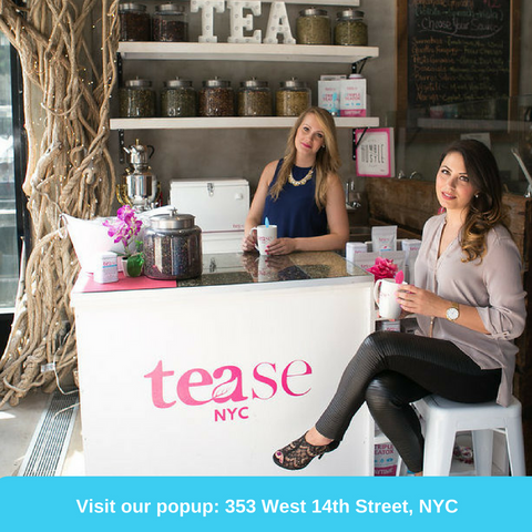 Tease Tea Location Popup 353 West 14th st nyc Gansevoort market