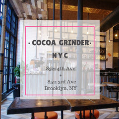 Tease Tea NYC Cocoa Grinder Brooklyn