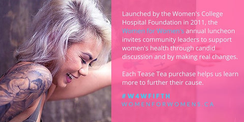 tease tea women's college hospital foundation charitea