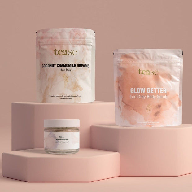 The Complete Tea Infused Body Care Collection-Tease Tea