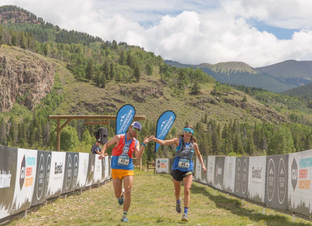 After running 20+ hilly miles, it can be hard to execute a properly timed finish-line high-five.