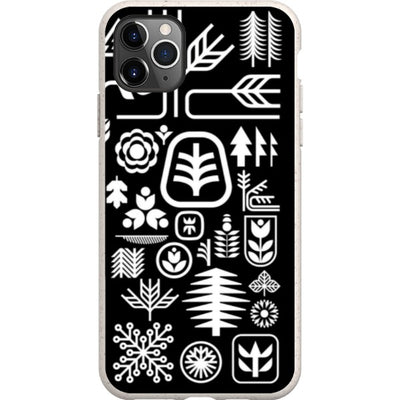 ethnfndr iPhone Eco-friendly Case Earth day white