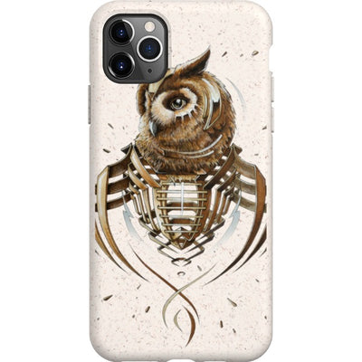 jayn_one iPhone Eco-friendly Case Owl