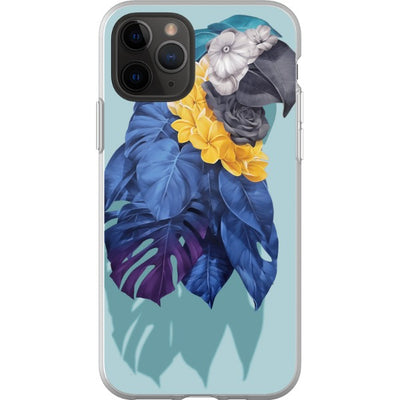 alessandroetsom iPhone Blue Macaw
