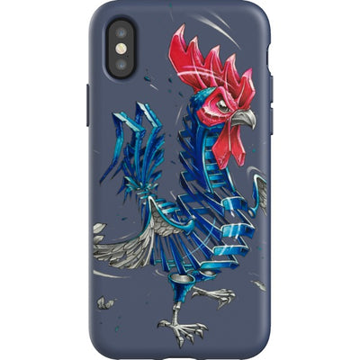 jayn_one iPhone Flexi Case Rooster