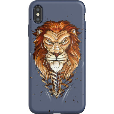 jayn_one iPhone Flexi Case Lion