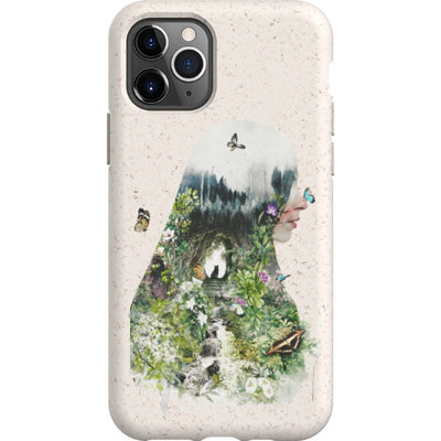 barrettbiggers iPhone Eco-friendly Case Catinthegarden