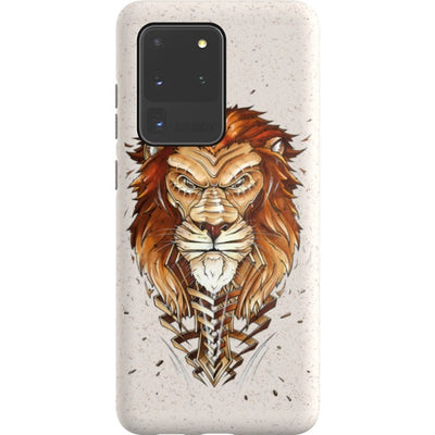 jayn_one Samsung Eco-friendly Case Lion