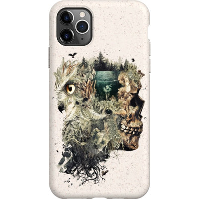 barrettbiggers iPhone Eco-friendly Case forestdream