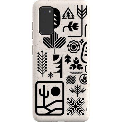 ethnfndr Samsung Eco-friendly Case Earth day black