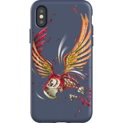 jayn_one iPhone Flexi Case Parrot