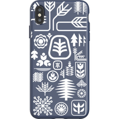 ethnfndr iPhone Flexi Case Earth day white