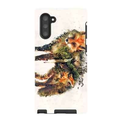 barrettbiggers Samsung Galaxy Note Red fox
