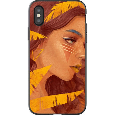 dylanaiello iPhone Gold Feather