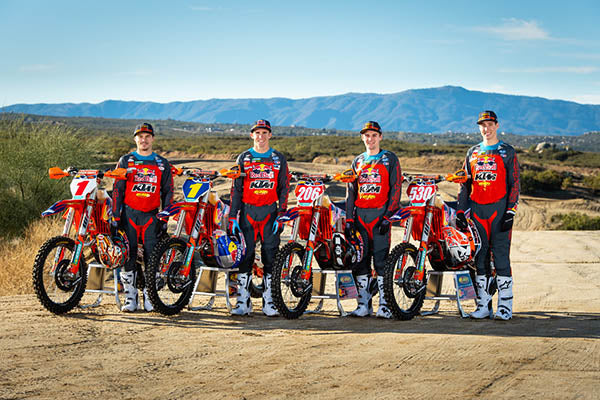 KTM Factory Off Road 2020 Team Lineup