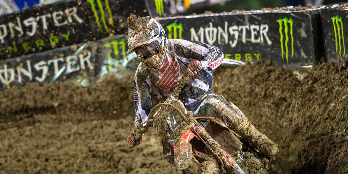 Las Vegas SX Race Report - Seely 9th