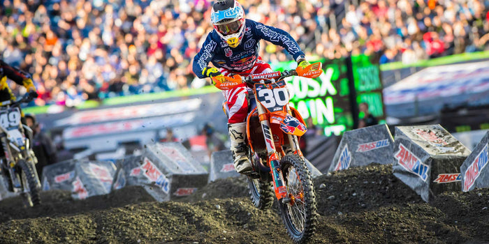 Foxborough SX Race Report, McElrath 4th - Seely 7th