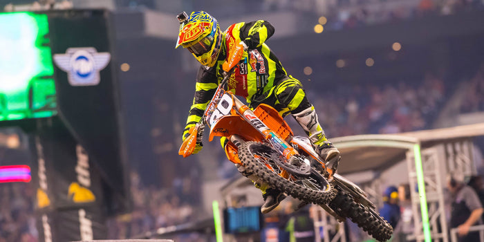 Indiana SX Race Report, McElrath 4th