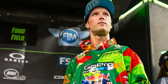 Detroit SX Race Report, McElrath Podiums