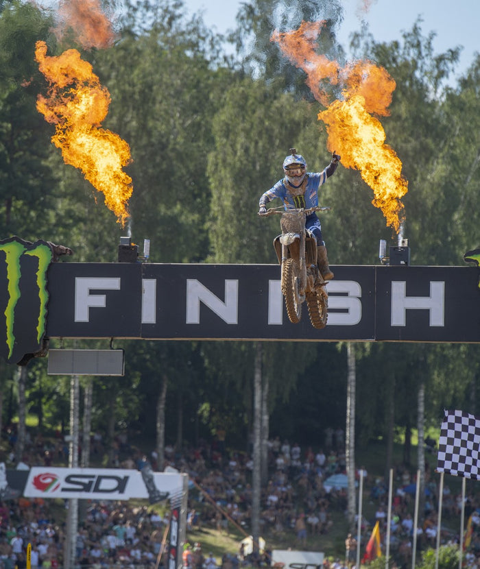 Monster Energy Yamaha Factory MX2 GP3 - Kegums, Latvia - Report
