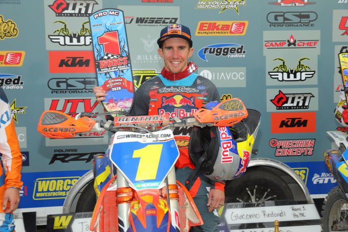 TAYLOR ROBERT WINS OPENING ROUND OF WORCS IN NEVADA