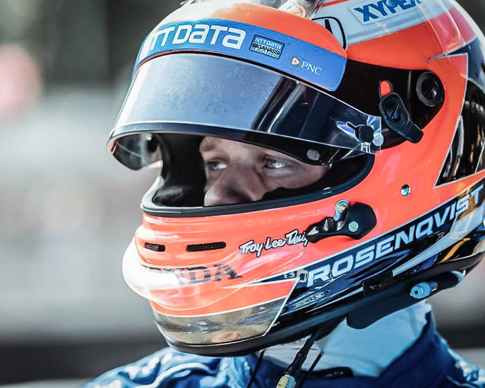 Felix Rosenqvist Wins Indy Rookie of the Year